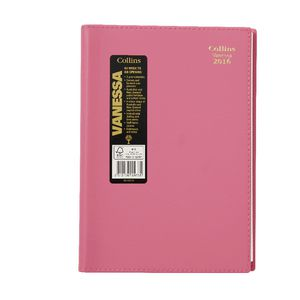 Collins Debden Vanessa A5 Week to View 2016 Diary Assorted