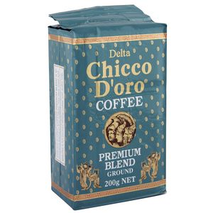 Delta Chicco D'oro Ground Coffee 200g