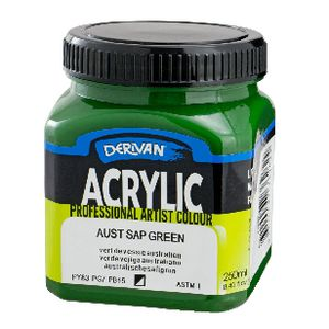 Derivan Structure Paint 250mL Australian Sap Green