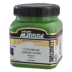 Derivan Structure Paint 250mL Chromium Green Oxide