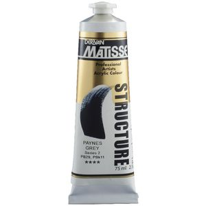 Derivan Structure Paint 75mL Payne's Grey S2