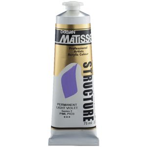 Derivan Structure Paint 75mL Permanent Light Violet S2