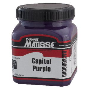 Derivan Background Paint 250mL Capitol Purple