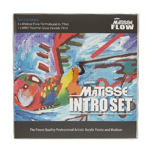 Derivan Matisse Flow Intro Set 75mL 5 Pack