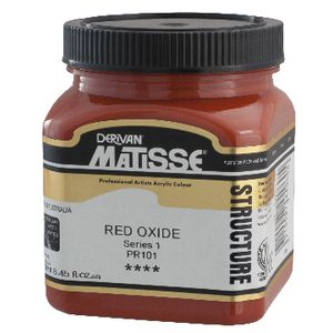 Derivan Structure Paint 250mL Red Oxide