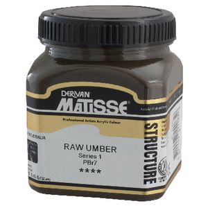 Derivan Structure Paint 250mL Raw Umber