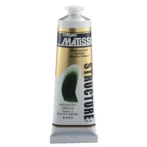 Derivan Structure Paint 75mL Hookers Green S2