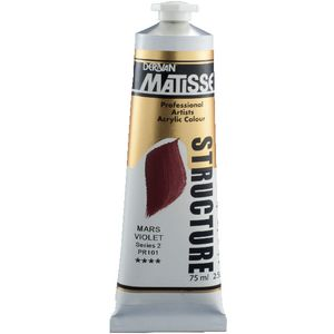 Derivan Structure Paint 75mL Mars Violet S2