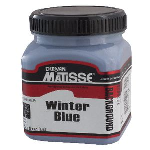 Derivan Background Paint 250mL Winter Blue