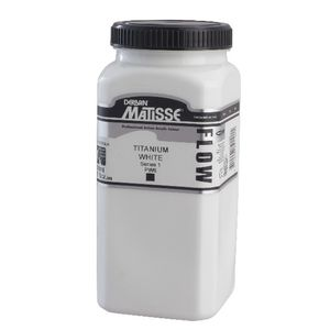 Derivan Flow Paint 500mL Titanium White