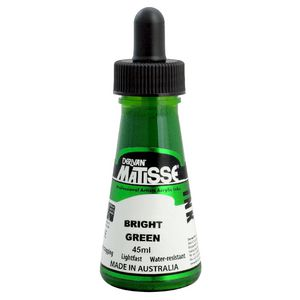 Derivan Matisse Ink 45mL Ink Bright Green