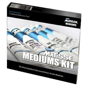 Derivan Matisse Medium Kit 75mL 5 Pack