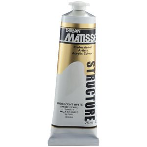 Derivan Structure Paint 75mL Iridescent White