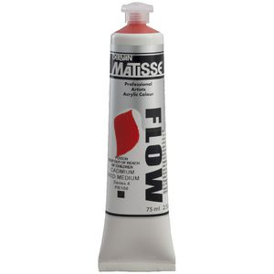 Derivan Flow Paint 75mL Cad Red Medium S4