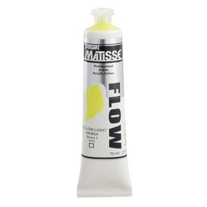 Derivan Flow Paint 75mL Light Hansa S2