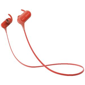 Sony Extra Bass Bluetooth Earphones Red