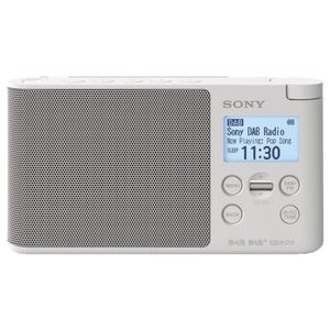 Sony DAB Portable Digital Radio White