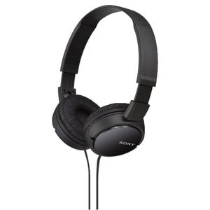 Sony Monitor Headphones Black MDR-ZX110