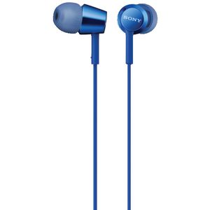Sony Earphones with Remote Blue