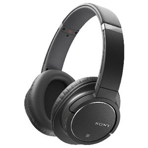 Sony Bluetooth Noise Cancelling Headphones Black MDR-ZX770BN