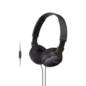 Sony Smartphone Headphones Black ZX110