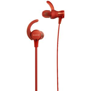 Sony Extra Bass Sports Earphones Red