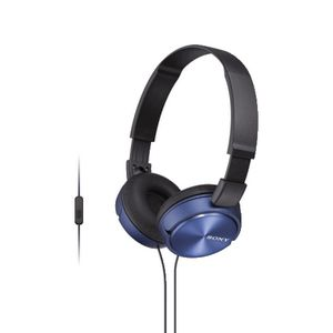 Sony Smartphone Headphones Blue ZX310