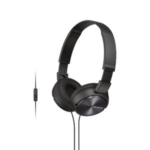 Sony Smartphone Headphones Black ZX310