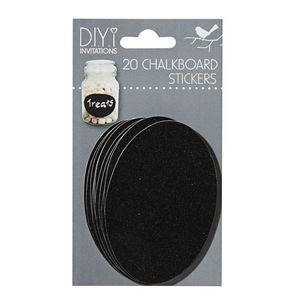 DIYi Chalkboard Stickers 20 Pack