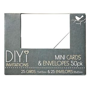 DIYi Mini Cards and Envelopes
