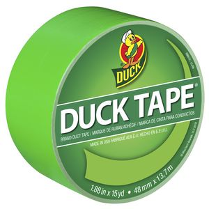 Duck Duct Tape Neon Green 48mm x 13.71m