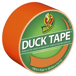 Duck Duct Tape Neon Orange 48mm x 13.71m