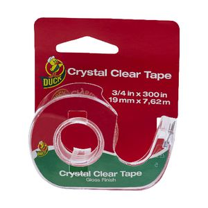 Duck Transparent Tape with Dispenser 19.1mm x 7.6m