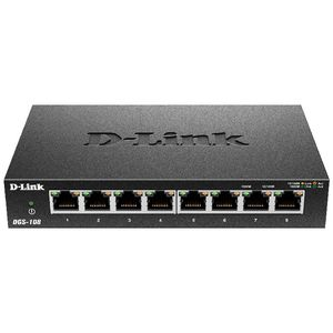 D-Link 8 Port Gigabit Desktop Switch DGS-108