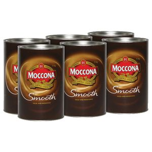 Moccona Smooth Granulated Instant Coffee 500g 6 Pack