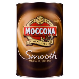 Moccona Smooth Granulated Instant Coffee 500g