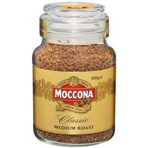 Moccona Classic Medium Roast Coffee 100g Jar