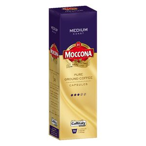 Moccona Caffitaly Medium Capsules 10 Pack