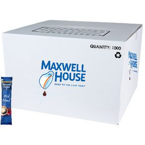 Maxwell House Instant Mild Blend Coffee Sticks