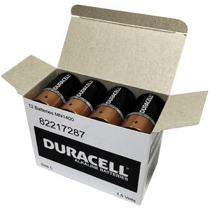 Duracell Coppertop C Batteries 12 Pack