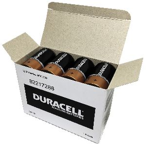 Duracell Coppertop D Batteries 12 Pack