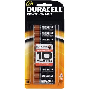 Duracell Coppertop AA Batteries 10 Pack