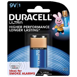 Duracell Ultra 9V Battery