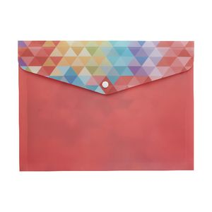 Otto Document Wallet A4 Printed PP Multi-coloured