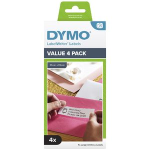 DYMO LabelWriter Address Labels Large 4 Roll Pack