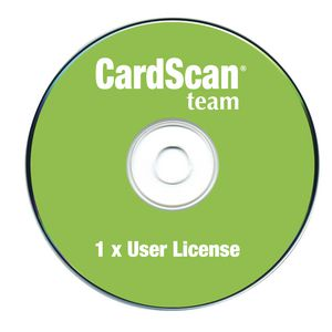DYMO CardScan Team Software License 1 User Box