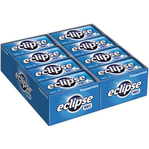 eclipse hard pressed mints peppermint 34g 16 pack