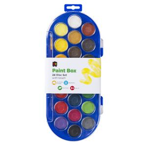 Educational Colours 22 Colour Disc Paint Box