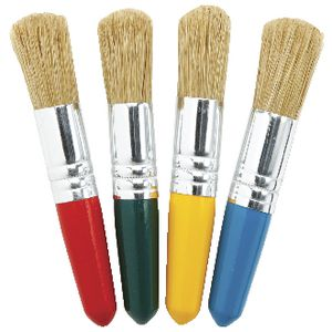 Educational Colours Baby Stubby Paintbrush 4 Pack