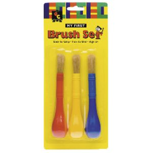 Educational Colours My First Brush 3 Pack